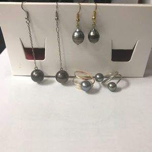 Jewelry - Authentic Tahitian Pearl Bundle